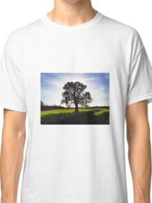 Backlit Tree Classic T-Shirt