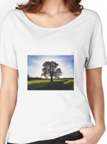 Backlit Tree Women's Relaxed Fit T-Shirt