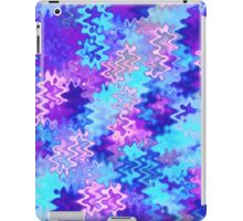 Blue and Purple Marble Waves iPad Case/Skin