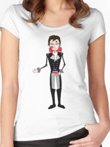 Adam Ant, Prince Charming inspired design Women's Fitted Scoop T-Shirt