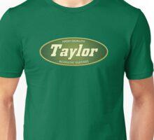 Vintage Taylor Acoustic Guitars Unisex T-Shirt