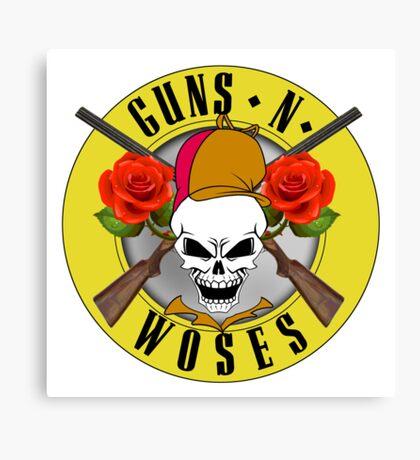 Guns-N-Woses Canvas Print