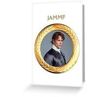 JAMMF Gold Frame Greeting Card