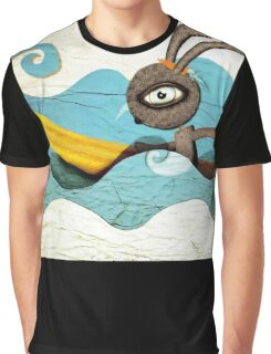 Surfing Waves Swirls Graphic T-Shirt