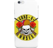 Guns-N-Woses iPhone Case/Skin