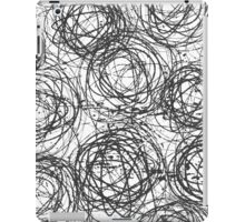 Ink Circles iPad Case/Skin