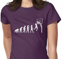 Funny Women's Basketball  Womens Fitted T-Shirt