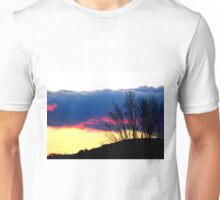 Sun Setting Behind the Hill Unisex T-Shirt