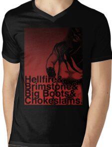 Helvetikane Mens V-Neck T-Shirt