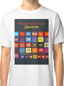 Chocolate Bar Table Classic T-Shirt