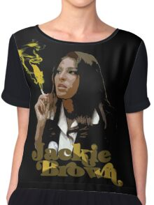 Jackie Brown Chiffon Top