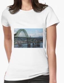 The Bridges Of Oregon's Coast - The Alsea Bay Bridge ©  Womens Fitted T-Shirt