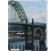 The Bridges Of Oregon's Coast - The Alsea Bay Bridge ©  iPad Case/Skin
