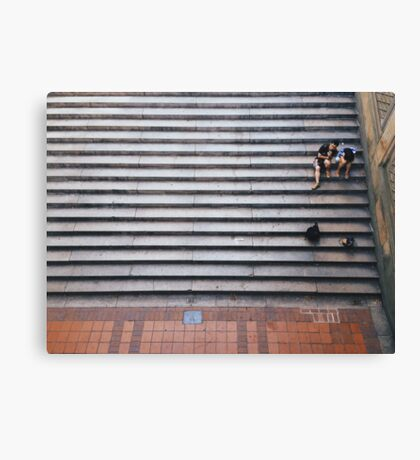 Stair Rest Canvas Print