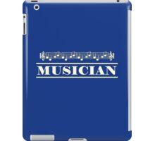 Musician (White) iPad Case/Skin
