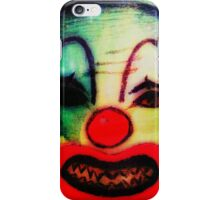 No clown - no party REVENGE iPhone Case/Skin