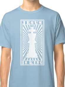 JESUS IS KING - WHITE  Classic T-Shirt