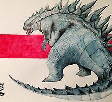 Godzilla by Sebastian Alappat