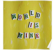 World Is Mine Poster