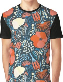 Summer field colorful pattern Graphic T-Shirt