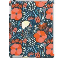 Summer field colorful pattern iPad Case/Skin