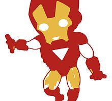 Iron Man (3 Tone) by DarthMoll21