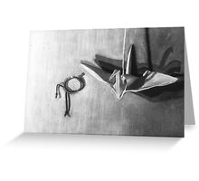 Craned Bracelet Greeting Card