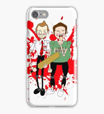Shaun of the Dead inspired design iPhone Case/Skin