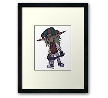Dapper Jak Framed Print