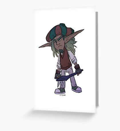 Dapper Jak Greeting Card