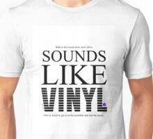 Sounds Like Vinyl Unisex T-Shirt
