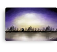 Doctor Who Across The Lake Canvas Print