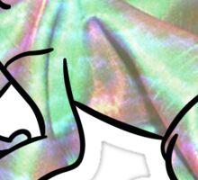 Aesthetic Frog 1 Sticker