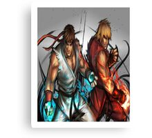 Street Fighter | Ryu x Ken Canvas Print