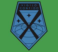 XCOM Project Staff Shirt by RAGEDBUBBLE