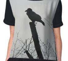 Crow of Yokohama Chiffon Top
