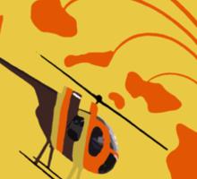 Island Hoppers /orange Sticker