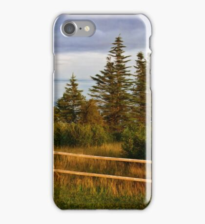 On the Bluff iPhone Case/Skin