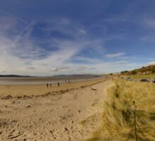 Lisfannon Beach, Fahan, County Donegal, Equirectangular  Sticker