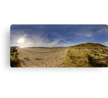 Lisfannon Beach, Fahan, County Donegal, Equirectangular  Canvas Print