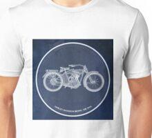 Harley Davidson Model 10B 1914 classic motorcycle Unisex T-Shirt