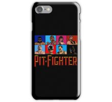 PIT FIGHTER - BAD GUYS - ARCADE GAME iPhone Case/Skin