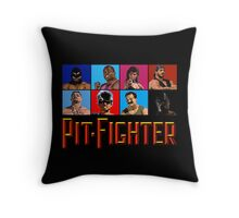PIT FIGHTER - BAD GUYS - ARCADE GAME Throw Pillow