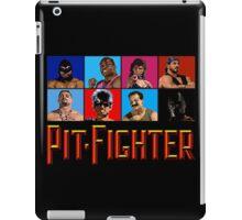 PIT FIGHTER - BAD GUYS - ARCADE GAME iPad Case/Skin