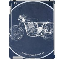 Royal Enfield Bullet 500 classic motorcycle for men cave iPad Case/Skin