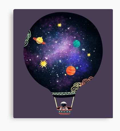 Cosmic Dreams Canvas Print
