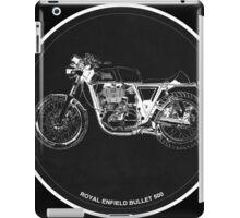 Royal Enfield Bullet 500 black art for men cave iPad Case/Skin