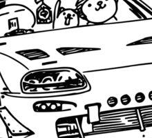 Crazy Car Art 0013 Sticker
