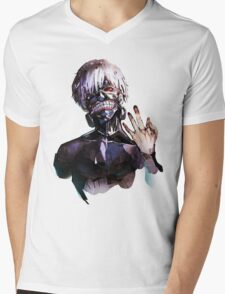 Ken Kaneki Mens V-Neck T-Shirt