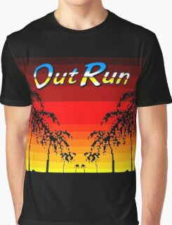 OUT RUN - LAST WAVE Graphic T-Shirt